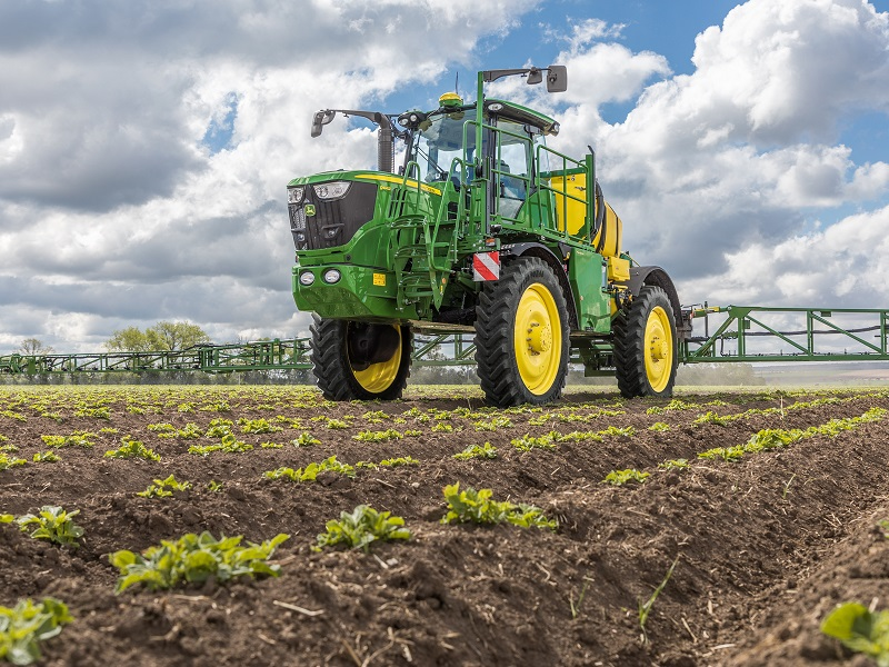 The latest spraying technology at Cereals LIVE