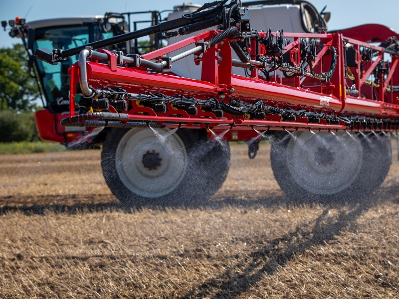 Putting sprayers through their paces at Cereals